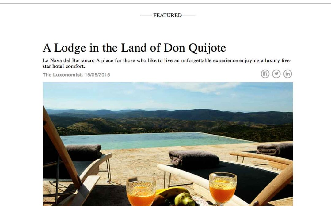 """""""A Lodge in the Land of Don Quijote"""""""