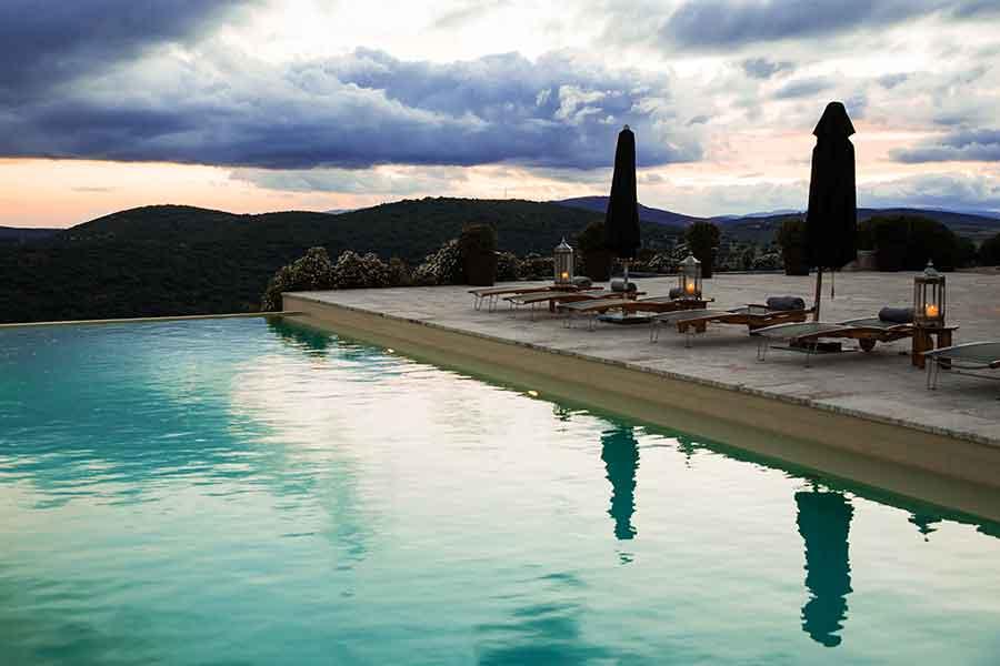 piscina privada: eventos exclusivos en España