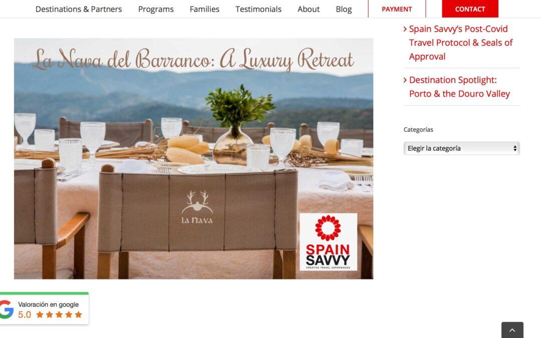 La Nava del Barranco a luxury retreat in the heart of Spain